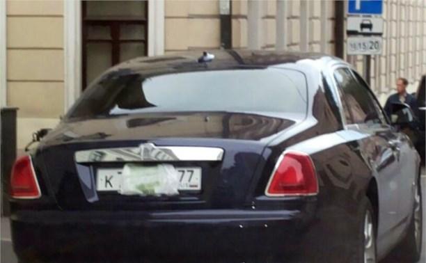 За скрытие автомобильного номера водителей будут лишать прав