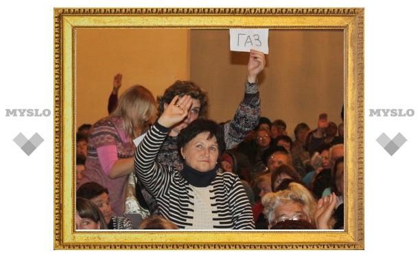 Груздев в Щекине устроил разнос главе управляющей компании