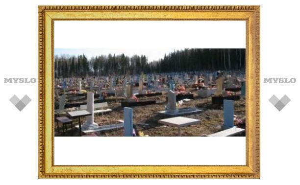 Туляки могут купить место на кладбище