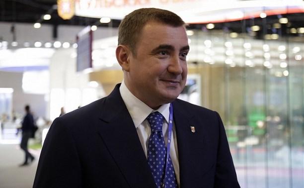Алексей Дюмин: «Четвертое место Тульской области в инвестиционном рейтинге – это заслуга команды»