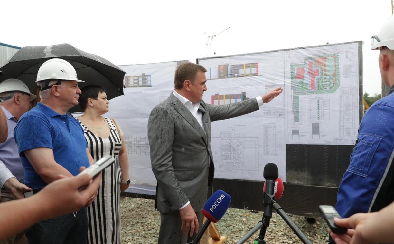 В Тульской области строится третий центр для одаренных детей