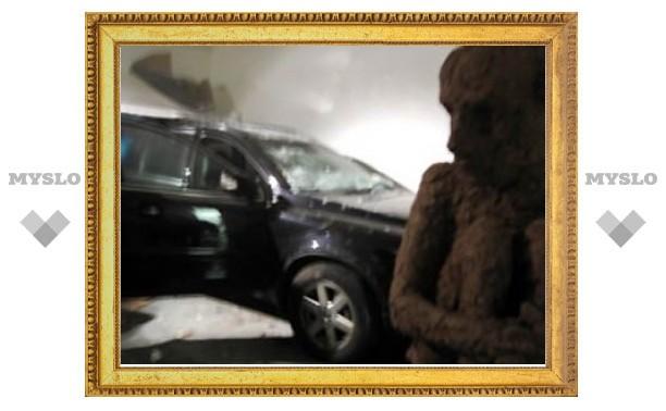 ДТП на выставке гигантских хлебных скульптур оказалось подстроенным