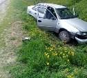 На трассе М-2 в Тульской области автомобиль «Дэу» вылетел в кювет