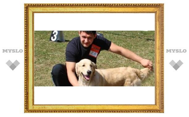 В Туле выбрали самую красивую собаку