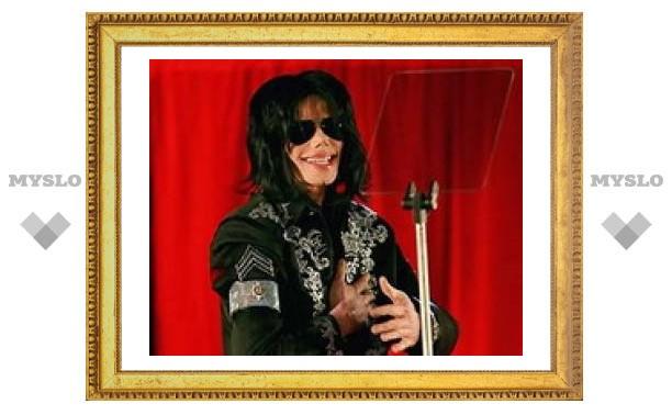 Майкл Джексон подзабыл свои фирменные танцы