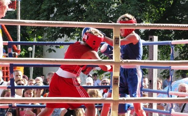 В Узловой состоялась матчевая встреча по боксу