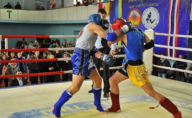В Туле завершилось первенство области по тайскому боксу