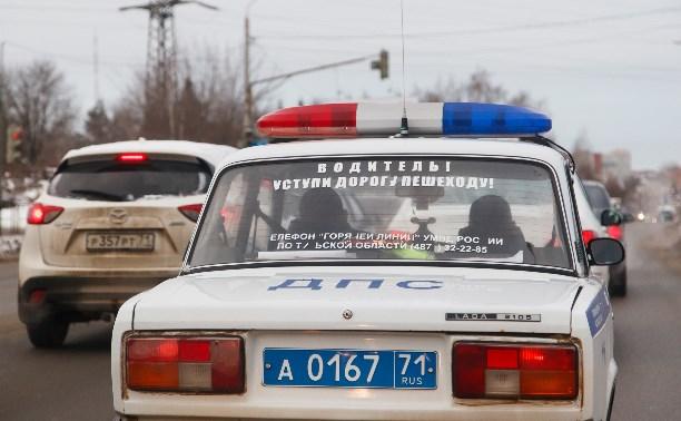 На ул. Максима Горького автомобиль сбил мужчину с двухлетним ребенком
