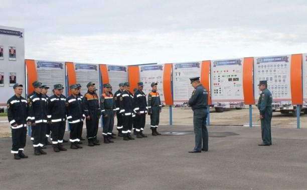 Тульских спасателей командировали в Брянскую область