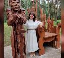 В Алексине в парке «Жалка» ко Дню города появилось «Царство Кощея Бессмертного»