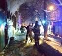 Ночной пожар в центре Тулы тушили 17 человек