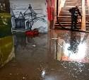 В Туле на ул. Каминского затопило подземный переход
