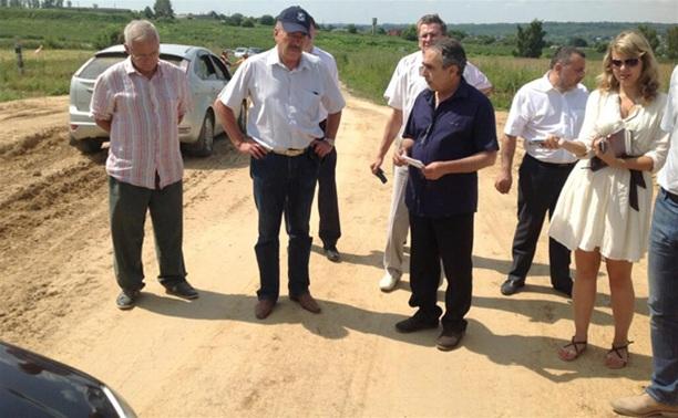 Председатель правительства Тульской области проверил ремонт дорог