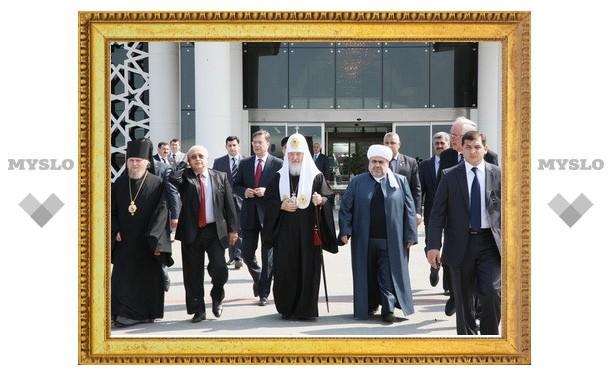 Завершился визит Патриарха Кирилла в Азербайджанскую Республику