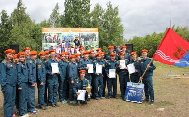 Юные тульские спасатели представят область на межрегиональном первенстве