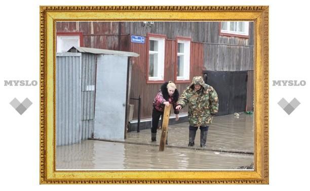 В Туле из-за паводка объявлен режим ЧС