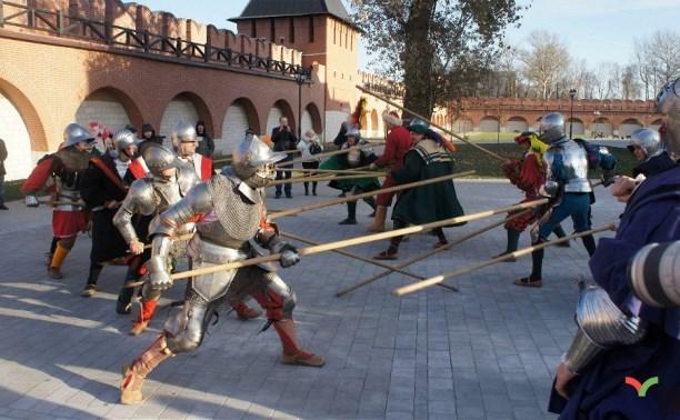 24 октября в Тульском кремле пройдут средневековые маневры