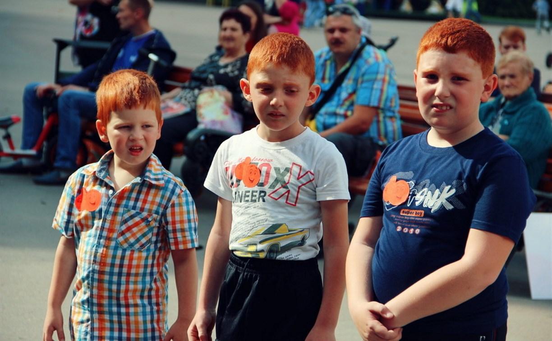 В Туле прошел фестиваль рыжеволосых
