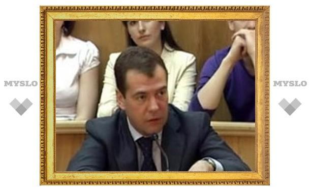 Медведев пообещал регионам дешевый интернет