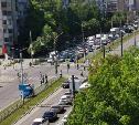 В Туле на улице Ложевой Renault сбил пожилого мужчину
