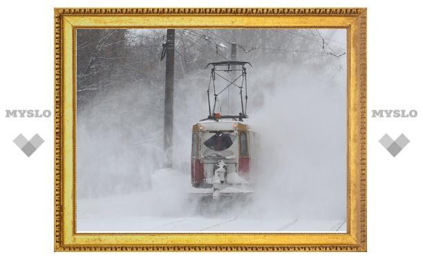 Тулу снова засыплет снегом!