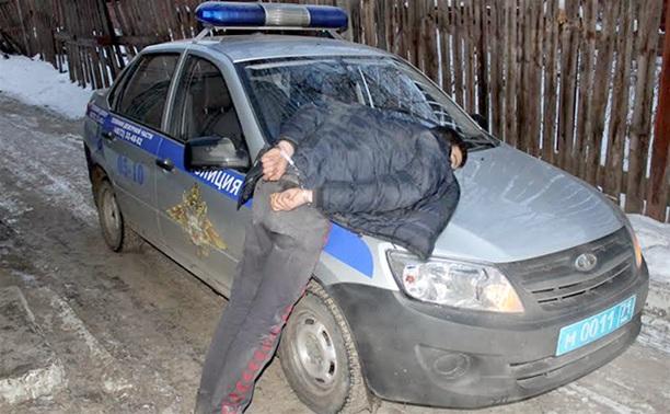 В центре Тулы поймали грабителя