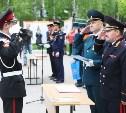 Глава тульского УМВД Сергей Галкин поздравил выпускников Первомайской кадетской школы с последним звонком