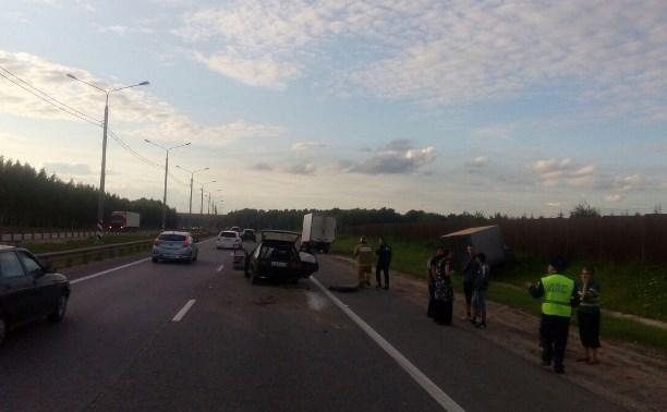 В ДТП на М-2 «Крым» пострадали четыре человека