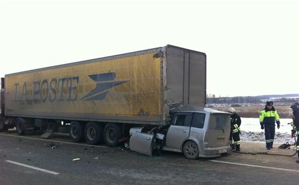 В ДТП под Тулой погибли два человека