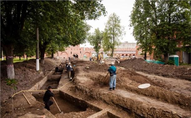 В центре Тулы начались археологические раскопки