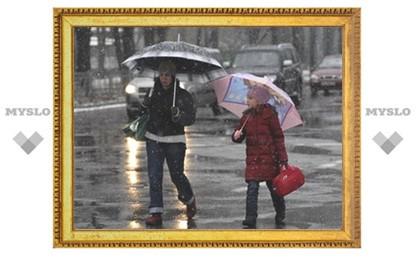 В Туле – буран, который сменится дождем