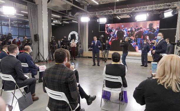 Алексей Дюмин: «Для нас было ответственно и почетно объединить регионы ЦФО на пресс-конференции президента»