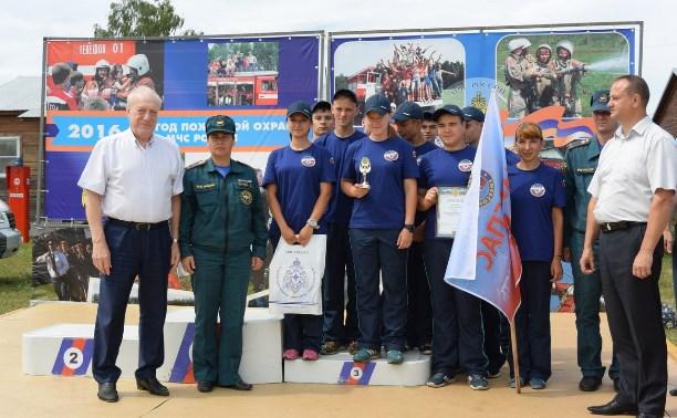 Тульская команда «Юниспас» стала третьей  на межрегиональных соревнованиях «Юный пожарный»