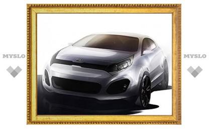Появились первые изображения нового Kia Rio