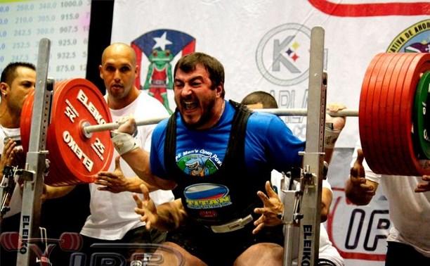 Тульский пауэлифтер стал бронзовым призёром чемпионата мира