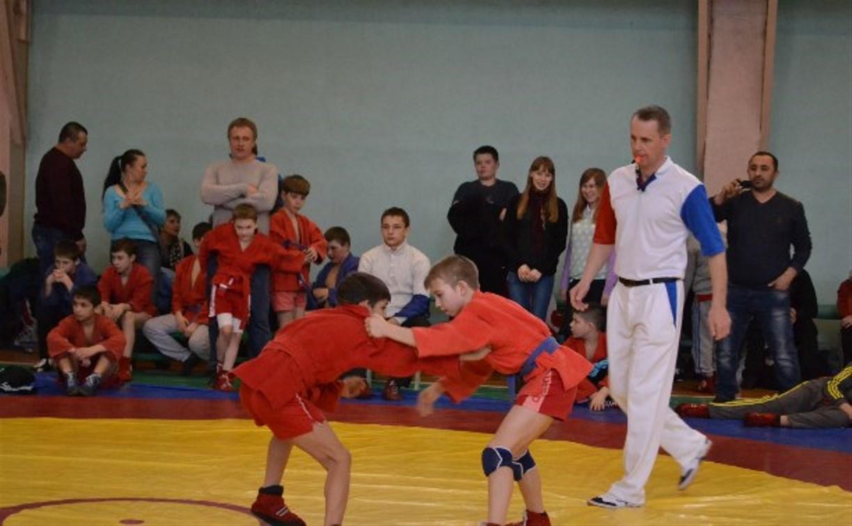 В Алексине состоялся турнир по самбо