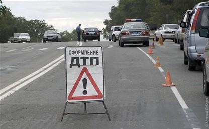 В Тульской области грузовик МАЗ улетел в кювет