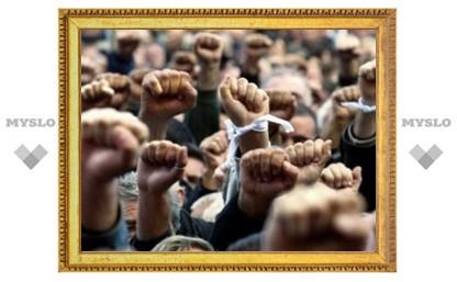 Сотни щекинцев собрались на митинг