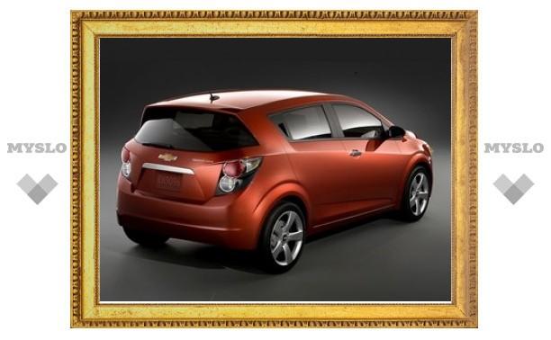 Компания Chevrolet переименовала хэтчбек Aveo