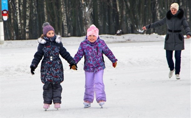 Тульские парки приглашают на «Марафон зимних игр»