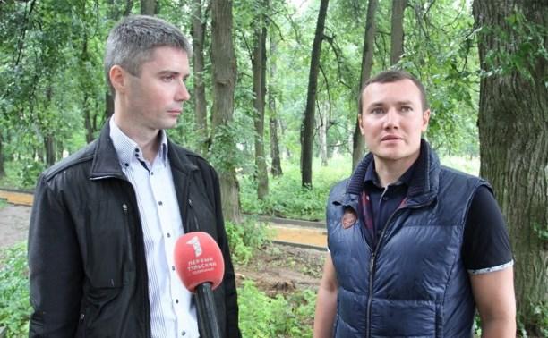 На благоустройство Рогожинского парка выделили 18,5 млн рублей
