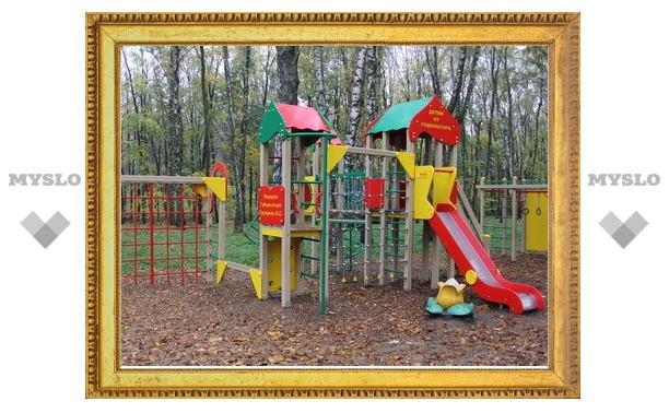 Туляки сами определят 110-й адрес, где установят детскую площадку