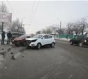 В Советском районе иномарка протаранила ВАЗ