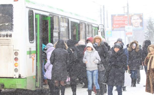Снег в Тульской области будет идти всю неделю