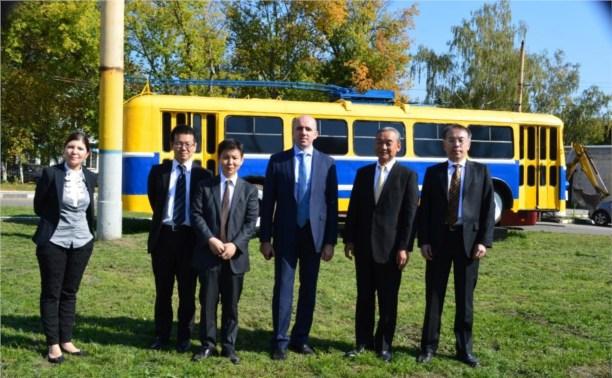 16 новеньких троллейбусов будут ездить в Туле на японских аккумуляторах
