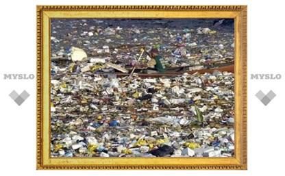 Горы мусора, дрейфующие в океане, грозят гормональными сбоями человеку
