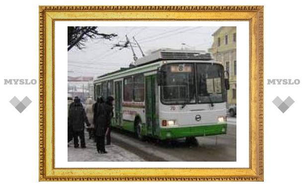 В Пролетарский район на троллейбусе