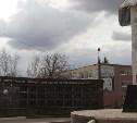 В Туле благоустраивают сквер у памятника ликвидаторам аварии на ЧАЭС
