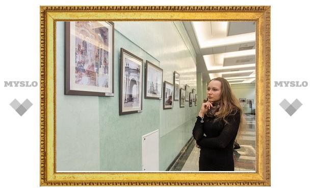 Владимир Жириновский побывал на тульской фотовыставке