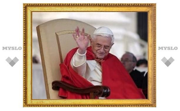 Папа Римский призвал спасти общечеловеческие ценности от экономического кризиса